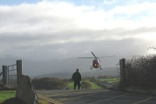 2nd Ebola Patient Moved By Air Ambulance. Photo Credit: Courtesy of  Eric Jones and licensed for reuse under this Creative Commons Licence.