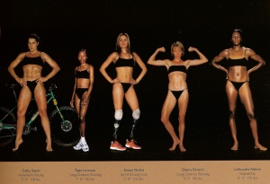 Which One Of These Women Looks Best? Photo Courtesy Of: Bored panda (world athletes side-by-side)