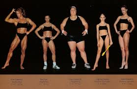 Which One Of These Women Looks Good? Photo Courtesy Of: Bored panda (world athletes side-by-side)