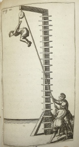 Engraving from a book about instruments of torture. Credit: CC2