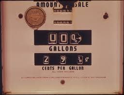 Gasoline Prices Down. Credit: David Falconer Public Domain