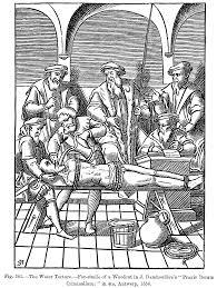Water Torture. Credit: Public Domain