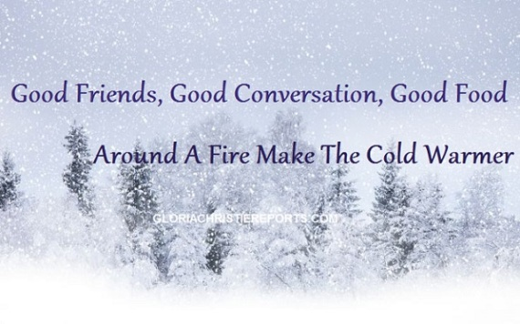 Do You Think Good Friends Are More Important In The Winter?